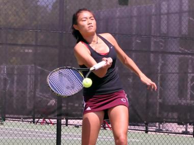 Before Linden Li was a standout tennis player for the University of Chicago, she was the No. 1-ranked junior table tennis player in the United States.