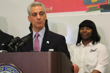 Mayor Rahm Emanuel reacted stoically to political threats from Chicago Teachers Union President Karen Lewis.