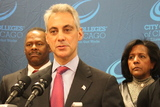 Emanuel Scoffs at Either/Or on Gun Control, Immigration Reform
