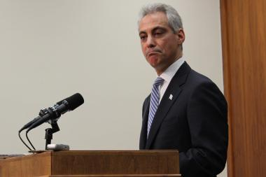 "Mayor Rahm Emanuel never mentioned Mayor Daley once on Monday, but he left no doubt about who's to blame for the city's ""lemon"" of a parking-meter deal."