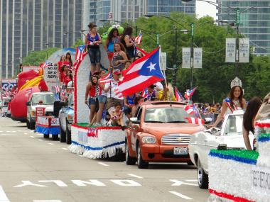 A recent Puerto Rican Day Parade downtown.