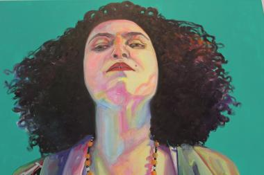 "Pilsen artists give good face in Amanda Joy Calobrisi's show ""Friends of My World"" at Ugly Step Sister Gallery."