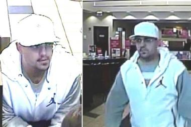 The FBI believes the man caught on surveillance tape robbing a suburban Bank of America branch is 32-year-old Joseph Anderson, from the North Side of Chicago.