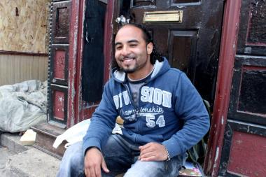 "Carlos Santiago, 28, said he was one of many hundreds of people who attended a party in a third-floor apartment above a shuttered restaurant in Wicker Park early Sunday. Santiago described the party as having ""beautiful, loud music"" and said he hasn't been to ""a party like that in a long time."""
