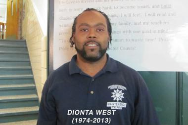 Dionta West, 38, was fatally shot while heading to work on April 26. Neighbors said it was a carjacking gone wrong.