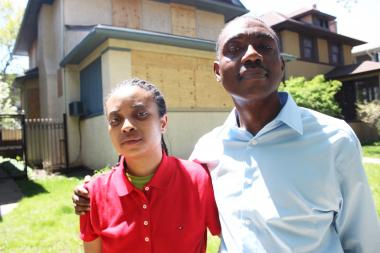 A couple thought they would move in to the long-vacant home and call it their own.