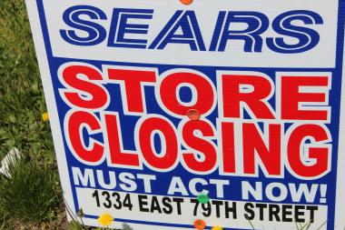 The auto center for an South Side Sears store closes Saturday. The entire store will shut down in July.