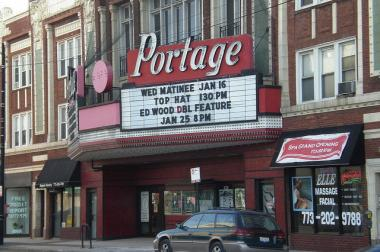 Portage Theater owner Eddie Carranza said Friday the Six Corners landmark would close for the foreseeable future because of a dispute over the former movie palace's liquor license.