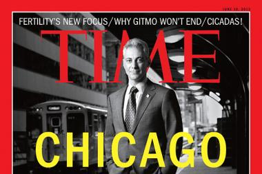 Chicago Mayor Rahm Emanuel is on the cover of Time magazine's latest issue.