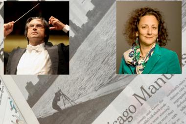 CSO Music Director Riccardo Muti came to the defense of his adopted city against attacks by New York Times book critic Rachel Shteir.