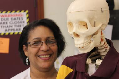 Elizabeth Copper is a science teacher at Lindblom Math & Science Academy in Englewood.