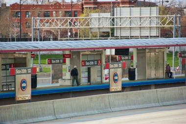 The Sox-35th Red Line station will close for five months beginning May 19 as part of the Red Line South construction project.