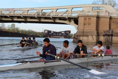 The leaders of the Chicago Training Center hope their rowing program is a pathway to higher education.