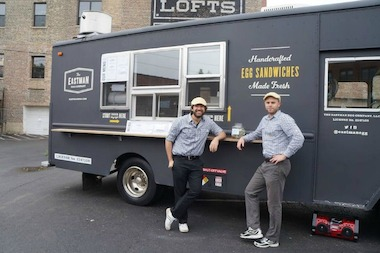 Seven new cook-onboard food trucks are ready to start serving.