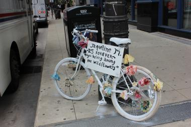 Donate Bikes In Chicago Ghost bikes are occasionally
