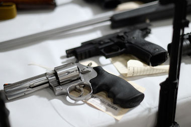 A new report finds that some 3,300 guns were reported lost or stolen in Illinois last year.