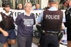 Keystone Pipeline Protest Yields 22 Arrests at Metcalfe Federal Building
