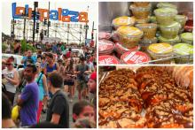 Lollapalooza Food Announced: Salsa Truck, Glazed & Infused and More