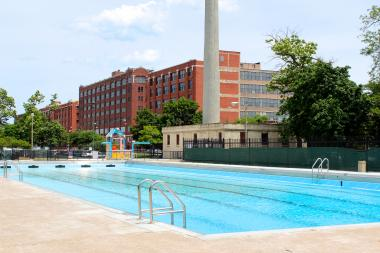 The McKinley Park pool is expected to open Friday.