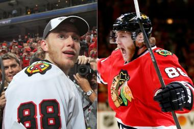 "Patrick Kane's beard has evolved since his ""scraggly"" beard in 2010. Local barbers say his beard has become fuller and thicker this year."