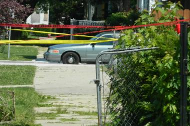 a discussion on violence and killing other people A 16-year-old boy was killed, and 17 other people were wounded,  a man was  shot during an argument in the roseland neighborhood farther.