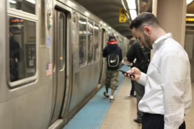 The city said 4G service is coming to the subway system.