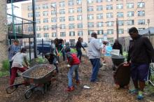 CPS Teens to Transform a Vacant Lot in Uptown Into a 'Theater Garden'