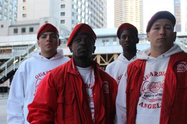 The head of the Guardian Angels in Chicago fired back Wednesday at Mayor Rahm Emanuel.