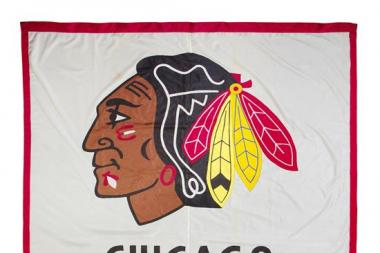The Blackhawks banner from the 1961 Stanley Cup-winning team is up for auction.