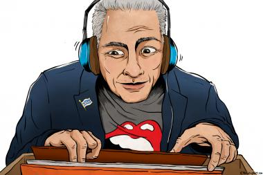 Mayor Rahm Emanuel loves a good rock show and has his favorite music playing constantly in his City Hall office.
