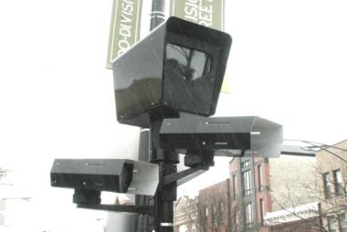City officials said speed cameras will be installed at four parks this month.