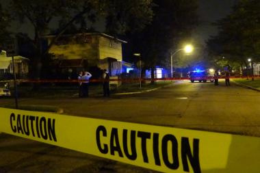Two men were killed in separate shootings Friday night and early Saturday.