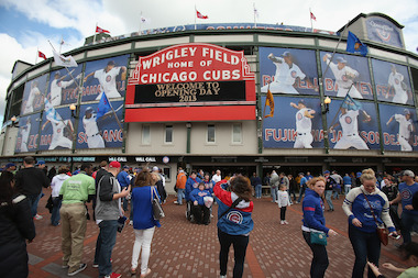 City services met Wednesday for an annual meeting to review the past season at Wrigley Field.