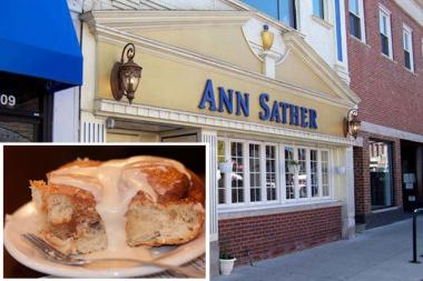 Ann Sather Restaurant, famous for its gooey, hot cinnamon buns, will close its location at 5207 N. Clark St. in Andersonville at the end of the year.