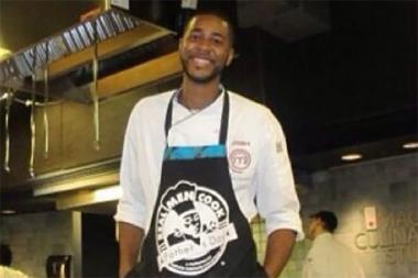 "Joshua Marks, who appeared on the Fox show ""MasterChef"" starring hot-headed chef Gordon Ramsey in 2012, was charged with aggravated battery against a police officer."