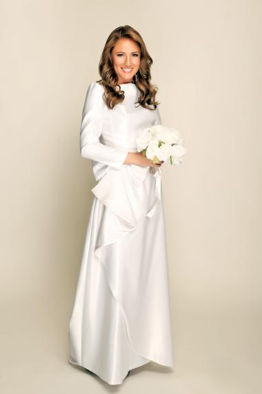 Stasia Wedding Dresses For The Modest Bride Launched By