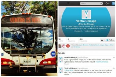 "Ventra's #CommuterClues hashtag got ""hashjacked"" on Twitter Wednesday."