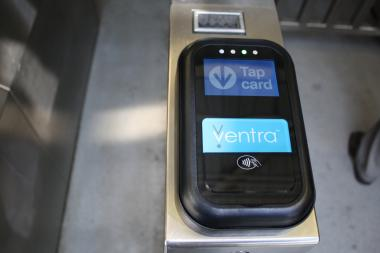 The CTA's new payment system Ventra. (File Photo)