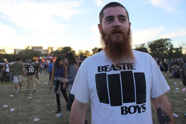 Beastie Boys Black Flag Parody Shirt