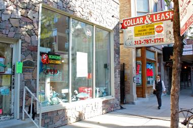 Collar & Leash, 1435 N. Wells St., closed Sunday.
