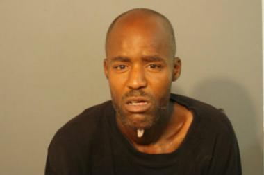 Derrick Ray, 41, was arrestd and charged after police said he threw bottles of urine and feces at officers and pepper sprayed them.