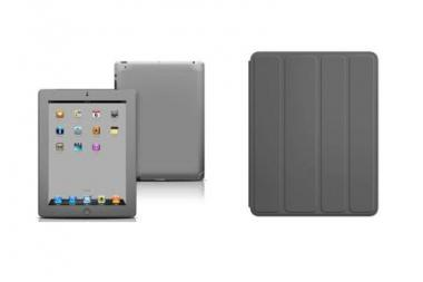 Police said the iPads and laptops stolen from Drake Elementary last week have gray leather covers similar to the ones pictured.
