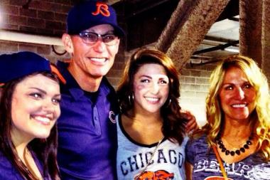 Chloe and Sarahanne Trestman give Bears fans an inside look at what life's like off the field for new Bears coach Marc Trestman.