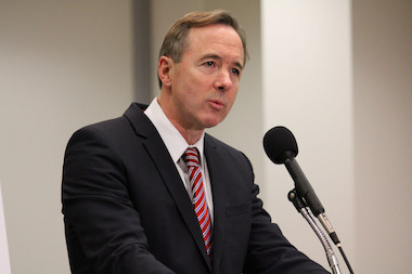 CTA President Forrest Claypool  promised there'd be no fare increases or service cuts in 2014 as he rolled out a $1.38 billion budget proposal on Friday.