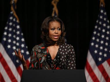 Michelle Obama Tells King H.S. Grads: The South Side Made Me Who I Am