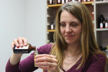 Body Chemistri pop-up creates custom perfume fragrances.