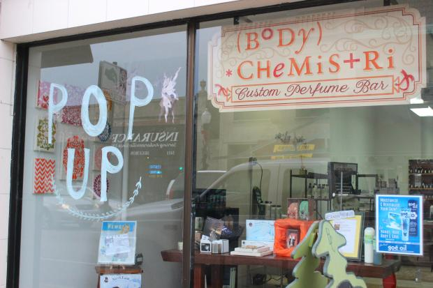 &lt;p&gt;Body Chemistri owner Heidi Sauhammel said Andersonville has given her pop-up shop a positive reception.&lt;/p&gt;<br />