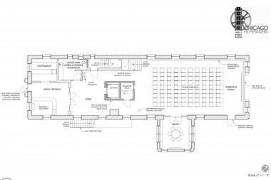 Chicago Filmmakers Firehouse Design