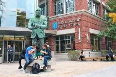 DePaul University's fall class of 2012 had about 5 percent of its students admitted without submitting standardized test scores.