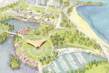 Jackson Park Visitors Center Adds Meetings as Obama Library Chatter Rises